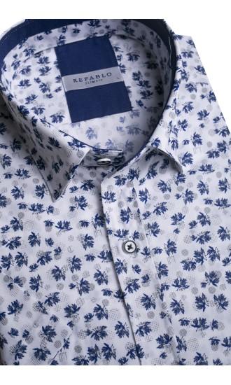 Koszule męskie krótki rękaw wiosna 2020 Repablo