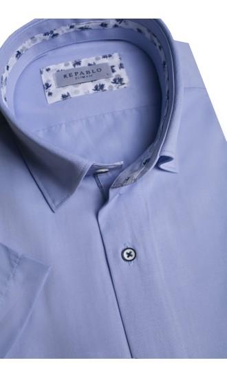 Koszula męska Richd błękitna