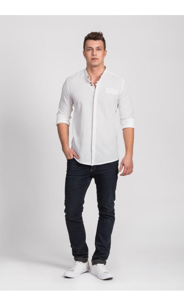 Koszula męska Edward biała