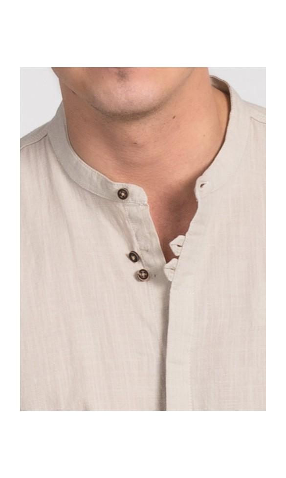 Koszula męska Edward beżowa