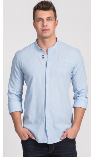 Koszula męska Edward błękitna