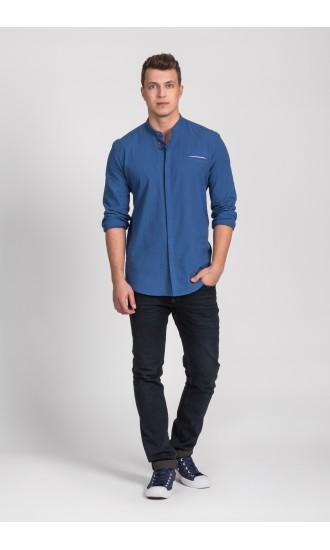 Koszula męska Edward niebieska