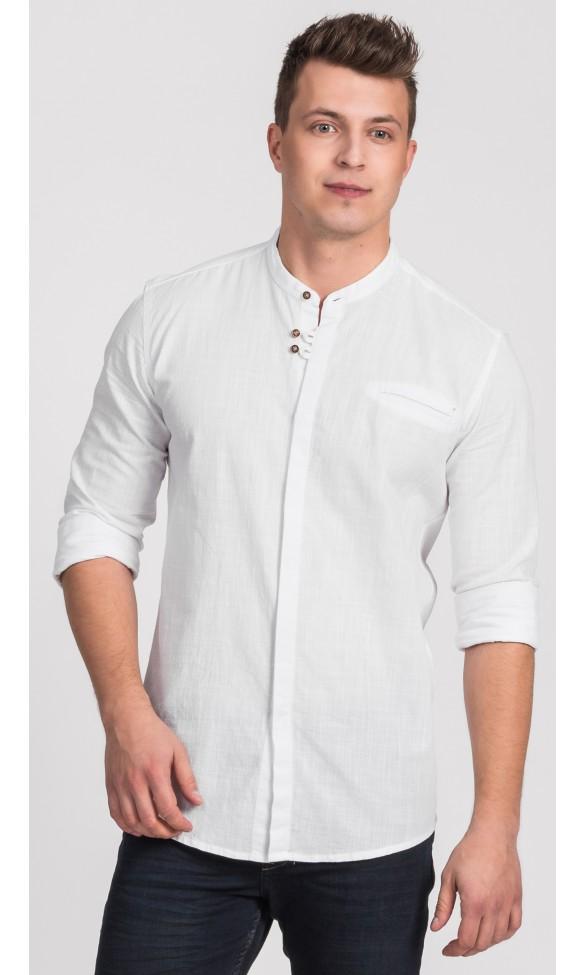 Koszula męska Damian biała