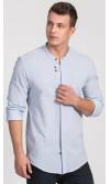 Koszula męska Damian błękitna