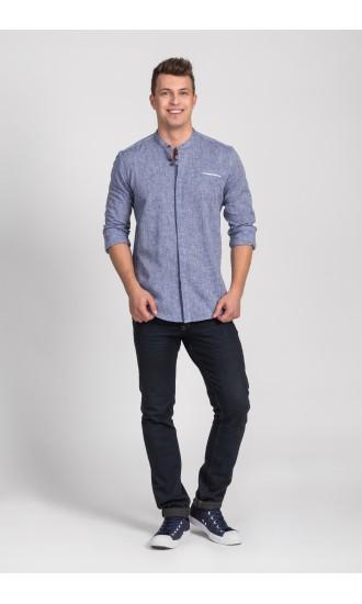 Koszula męska Damian niebieska