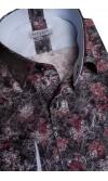 Koszula Flowers ciemna