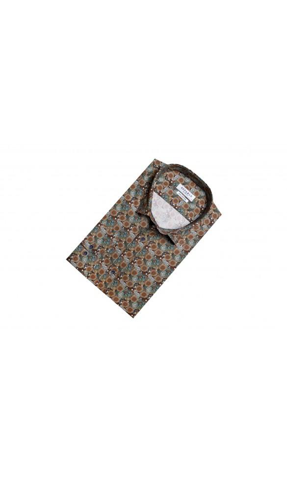 Koszula Lino zieleń