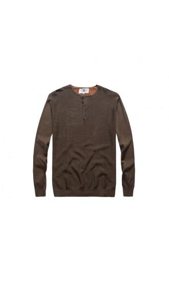Sweter męski Samson oliwkowy