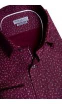 Koszula Twig bordowa