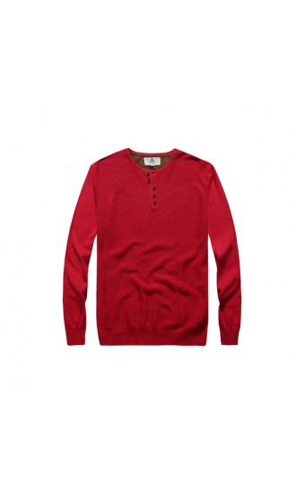 Sweter męski Samson czerwony