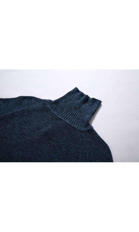 Sweter męski August niebieski