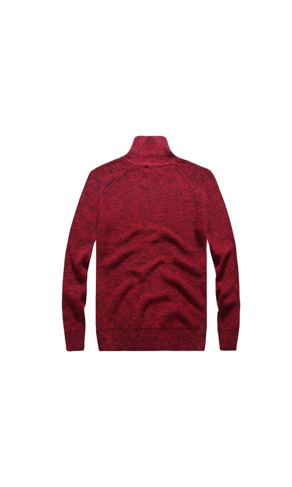 Sweter męski August bordowy