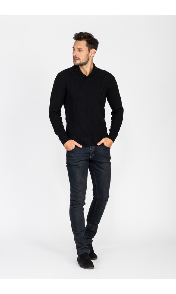 Sweter męski Artur czarny