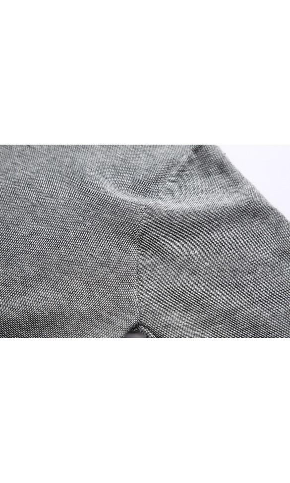 Sweter męski Bazyli szary