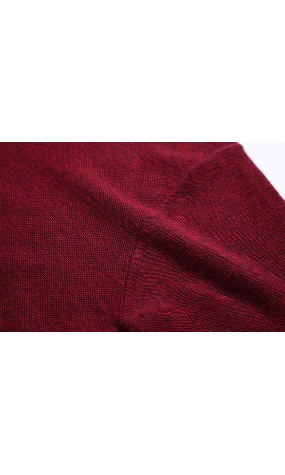 Sweter męski Bazyli bordowy