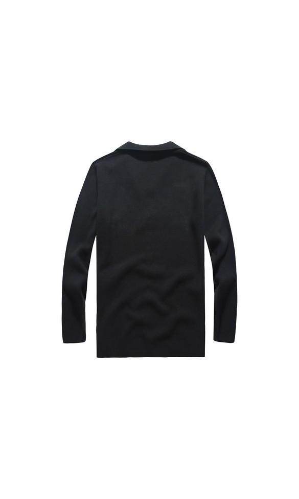 Sweter męski Borys czarny