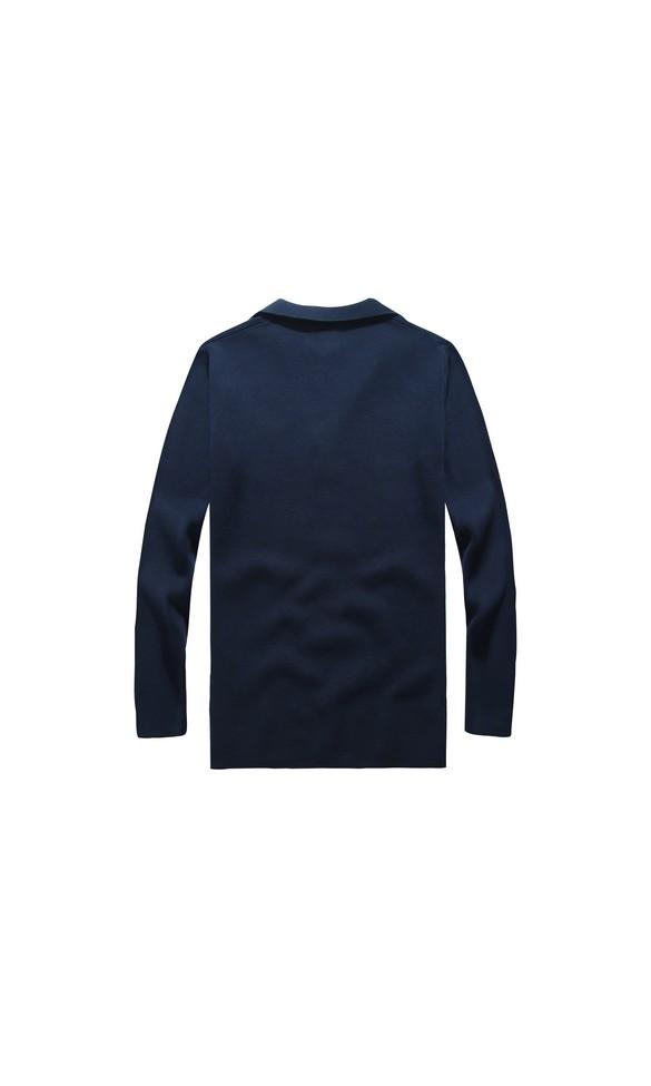 Sweter męski Borys granatowy