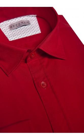 Koszula Comfort Czerwona
