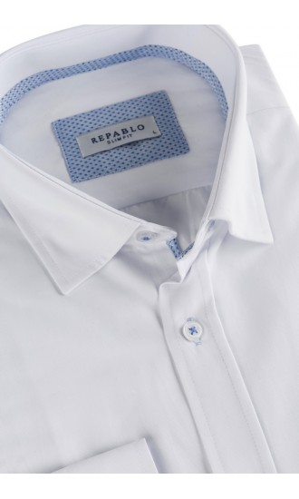 Koszule męskie białe 2020 Repablo