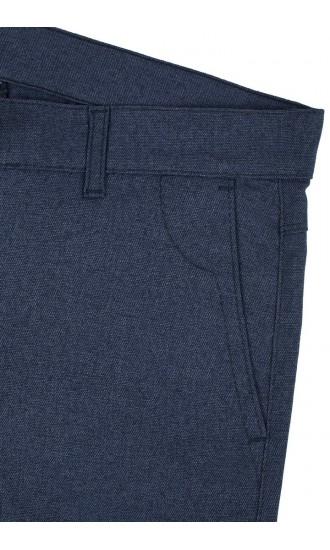 Spodnie męskie Nestor granatowe