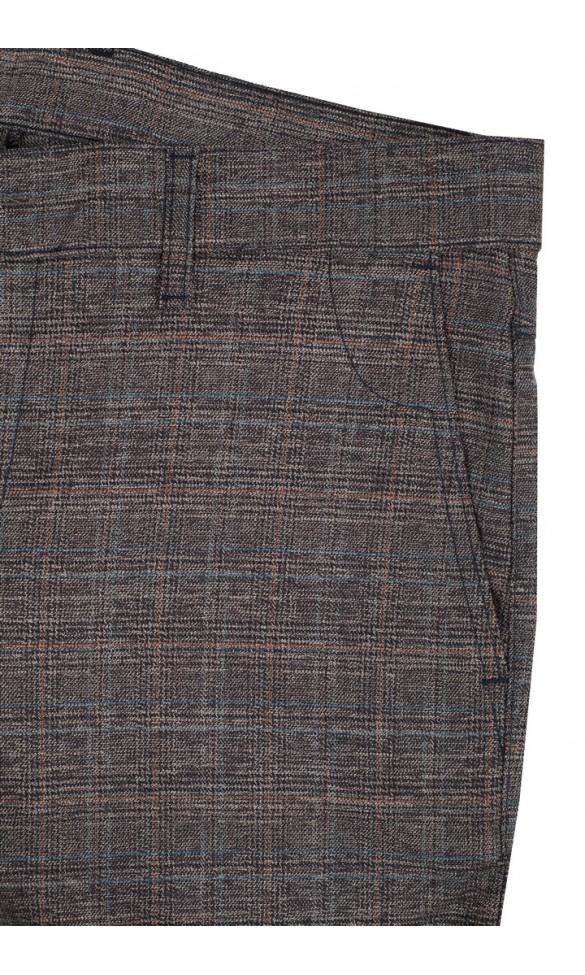 Spodnie męskie Valentine brązowe