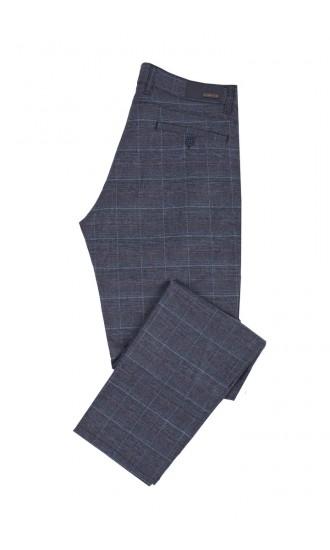 Spodnie męskie Valentine niebieskie