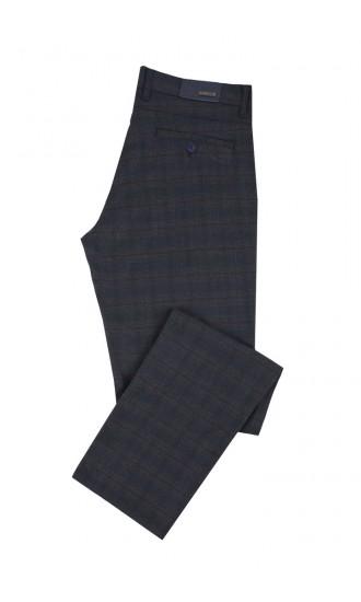 Spodnie męskie Valentine granatowe