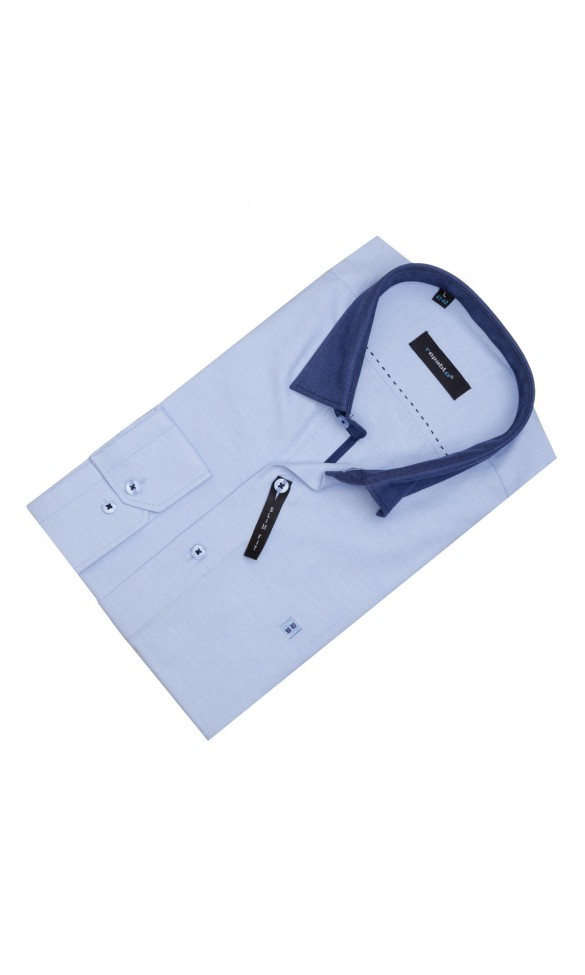 Koszula Trend Niebieska