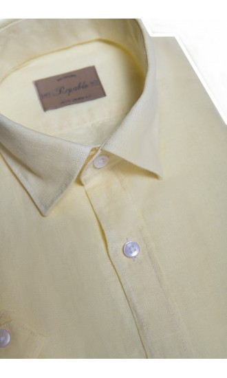 Koszula męska Gabriel żółta