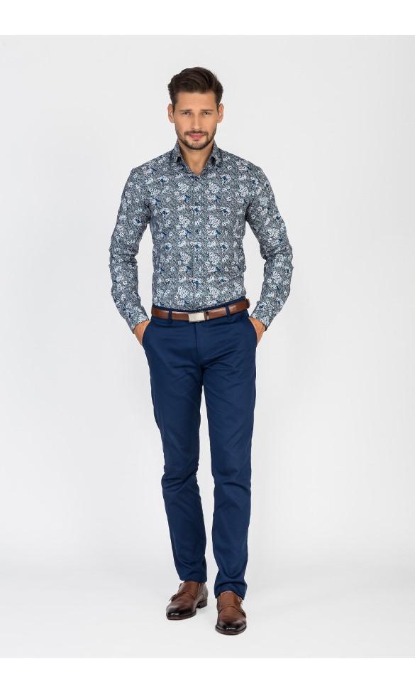 Koszula męska Daniel niebieska