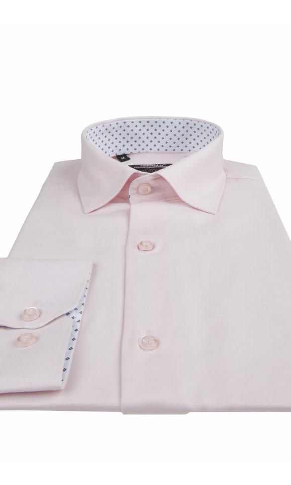 Koszula męska David różowa