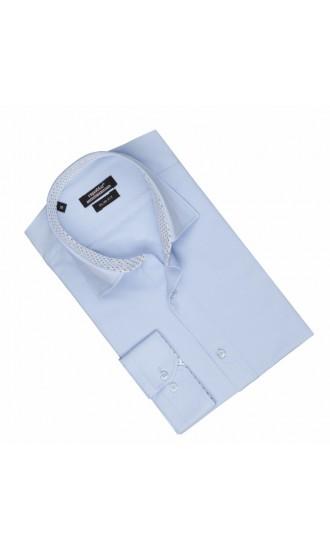 Koszula męska David niebieska