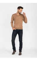Sweter męski Vincent karmelowy