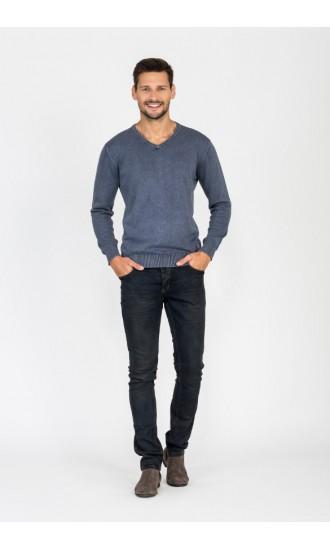 Sweter męski Vincent niebieski