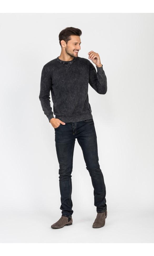 Sweter męski Walt czarny