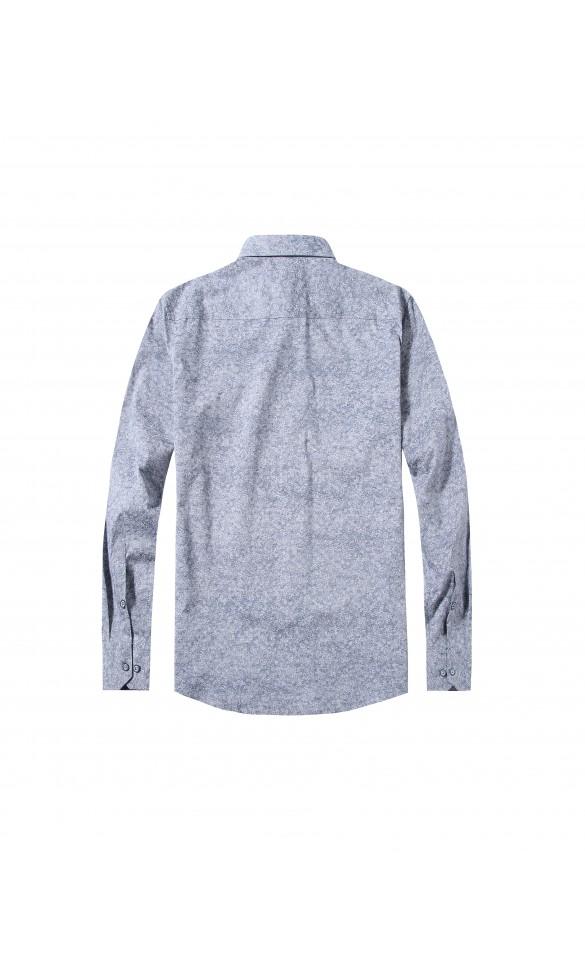 Koszula męska Max biało szara