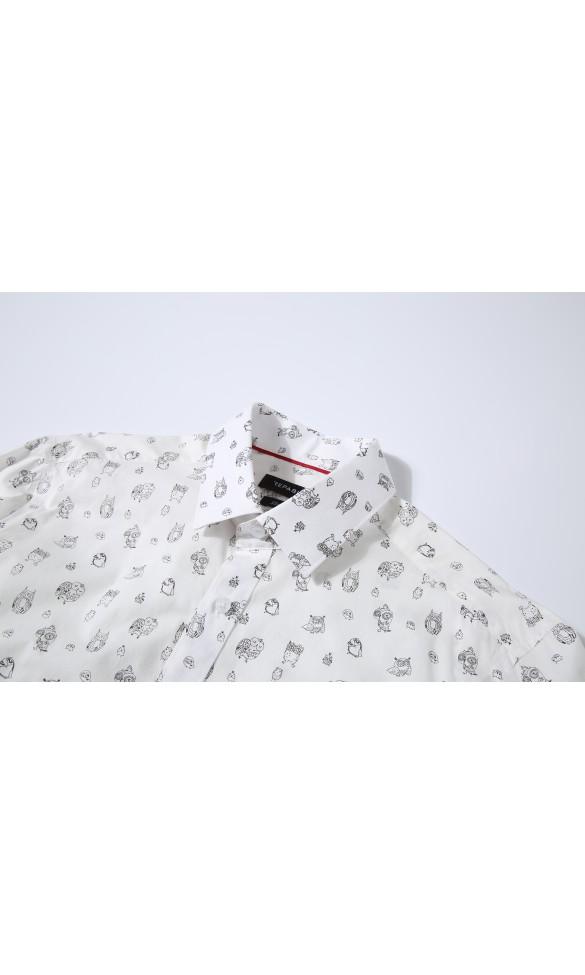 Koszula męska Mike biała