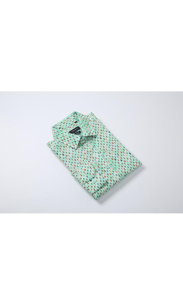 Koszula męska Michał zielona