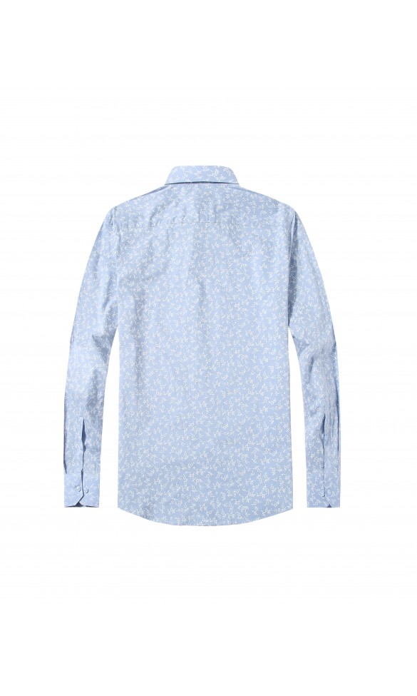 Koszula męska Leon błękitna