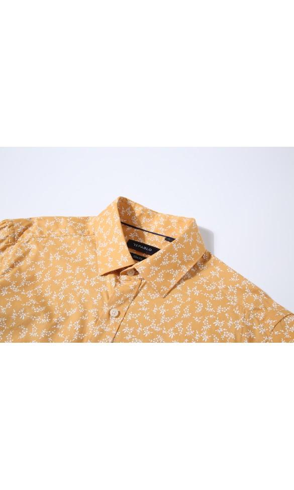 Koszula męska Leon brzoskwiniowa