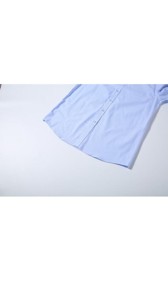 Koszula męska Ludwik niebieska