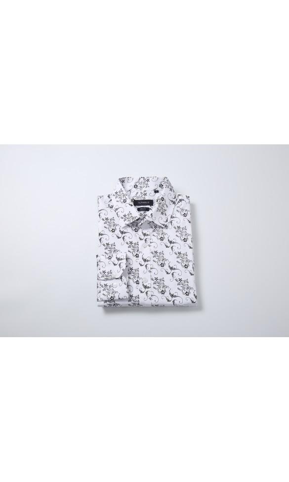 Koszula męska Leonard biała