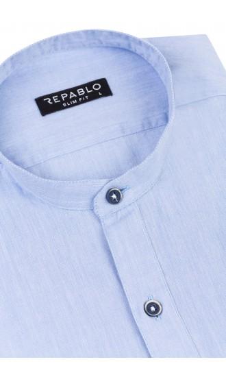 Koszula męska Dawid błękitna