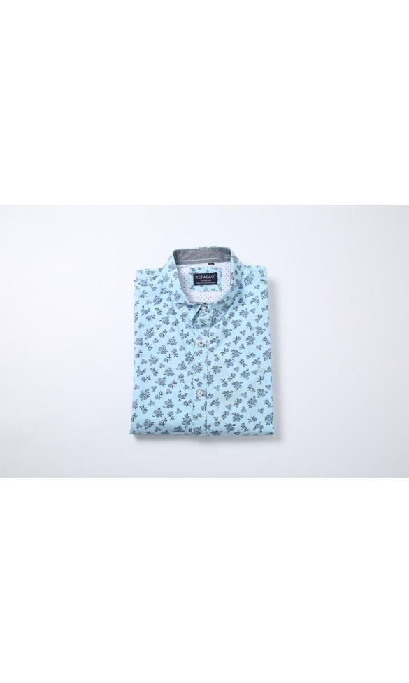 Koszula męska Kacper niebieska