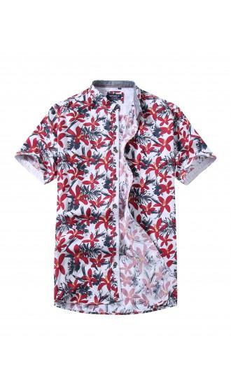 Koszule męskie krótki rękaw wiosna 2020 Repablo  HQoot