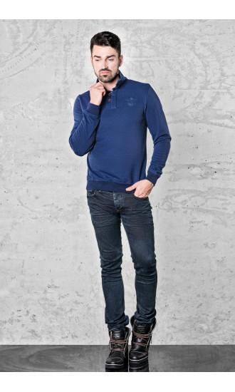 Sweter meski Marco Granatowy