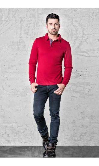 Sweter meski Nick Czerwony