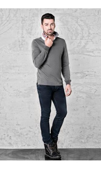 Sweter meski Ted Szary