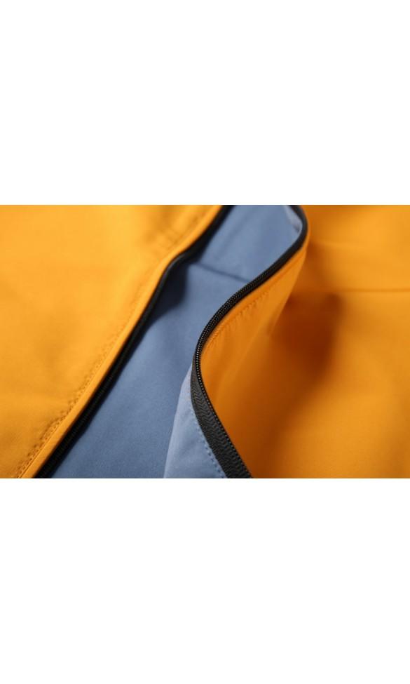 Kurtka męska Daniel żółto-niebieska