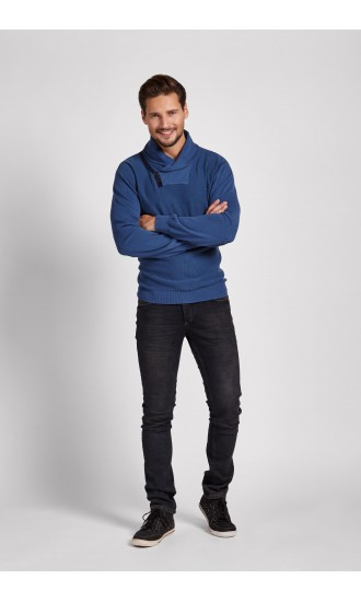 Sweter meski Robert Niebieski